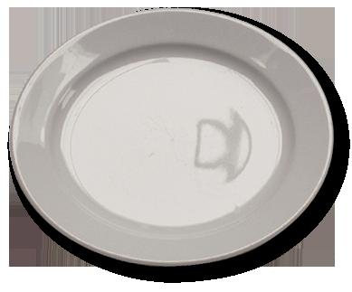 Assiette plate standard