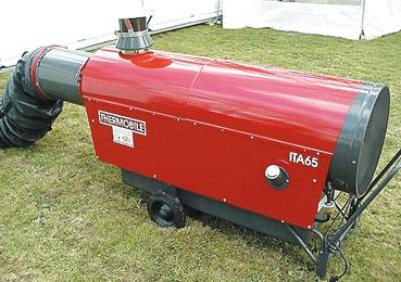 Chauffage air pulsé ITA 65