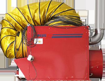 Chauffage air pulsé MF 100